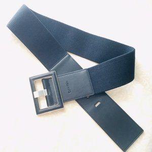 Calvin Klein Leather/Elastic Classic Belt!